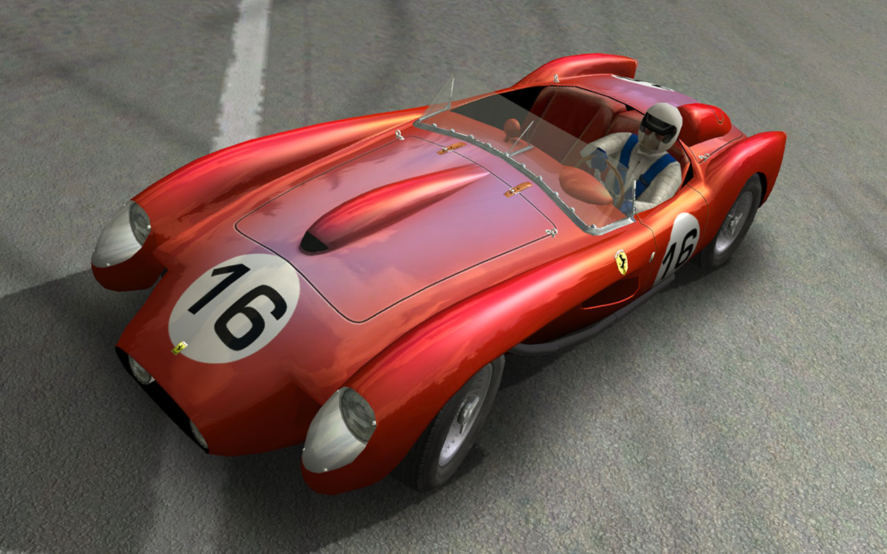 Jag D-type, Aston DBR1 and Ferrari 250TR - Page 4 Testa_10